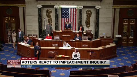 Michiana voters react to impeachment inquiry