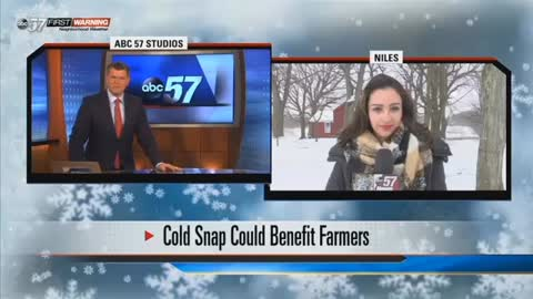 Michiana farmers thankful Mother Nature brought winter back