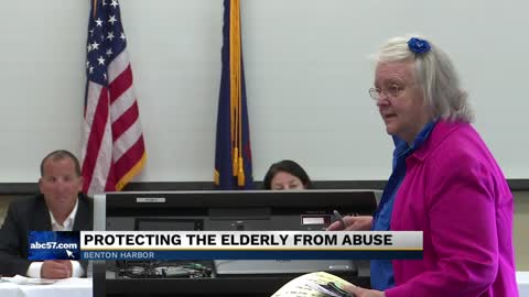 Michigan Attorney General's Elder Abuse Task Force makes stop in Benton Harbor
