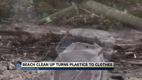 Michigan College students turn plastic waste along coast into...