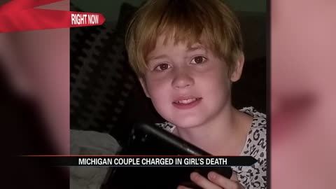 Michigan couple charged in autistic girl's death