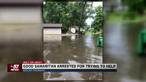 Michigan man charged for trying to fix neighborhood flooding