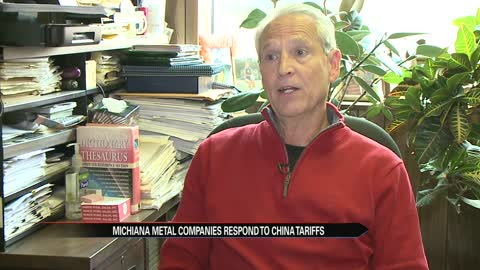 Michiana metal company responds to China's tariffs