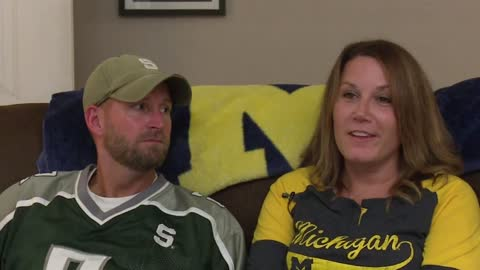 Michigan, Michigan State rivalry divides Niles home