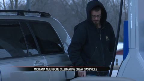 Michiana neighbors celebrating cheap gas prices