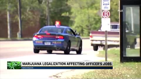Michigan Police claim marijuana legalization has made work difficult