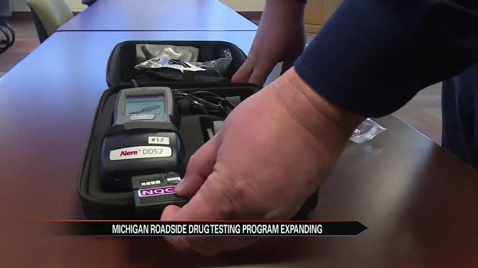 Michigan roadside drug testing program expanding