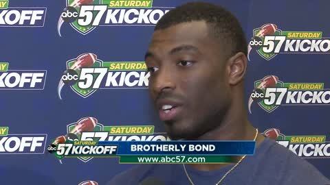 Miles Boykin explains how his brother inspires him