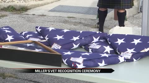 Miller's Vets honors fallen veterans who lacked formal military recognition at burials