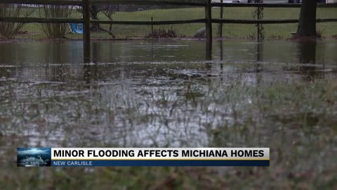 Minor flooding affects homes in Michiana
