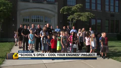Mishawaka Fire Department helps with back to school safety