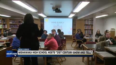 "Mishawaka High School hosts a ""Show and Tell"" event"