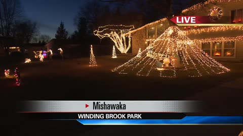 Mishawaka light displays help to give back to the community