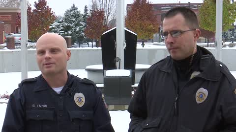 Mishawaka officers help deliver a baby in police department's parking lot