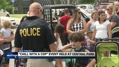 Mishawaka Police connect with local kids during 'Chill with a Cop'