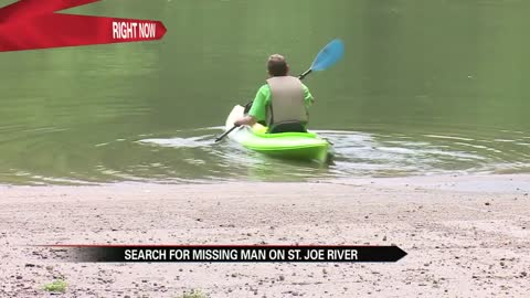 Drones assisting search for missing man in St. Joseph River