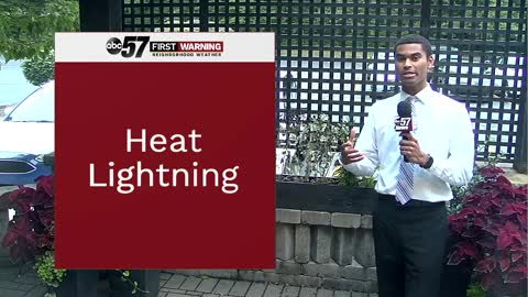 "What really is ""heat lightning""?"
