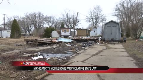 ABC57 Investigates: La Porte Co. Mobile Home Park hit with multiple violations