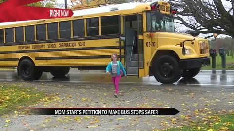 Rochester mom starts petition to makes bus stops safer