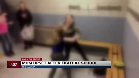Students film fight inside Mishawaka elementary school locker room