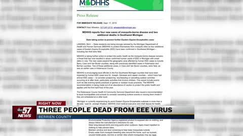 More cases of EEE in Southwest Michigan