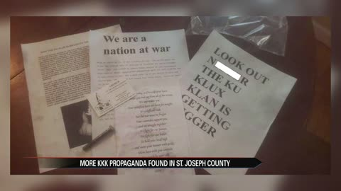 Notre Dame professor weighs in on the KKK's history in Michiana after more propaganda is found