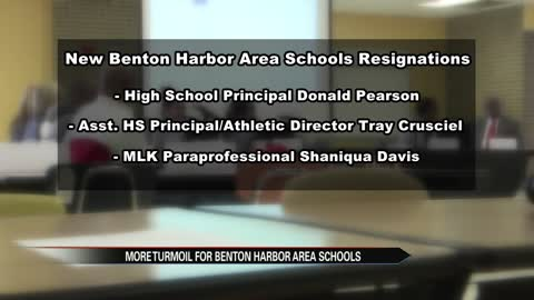More resignations at Benton Harbor Area Schools
