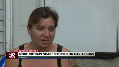 More victims share stories on car arsons
