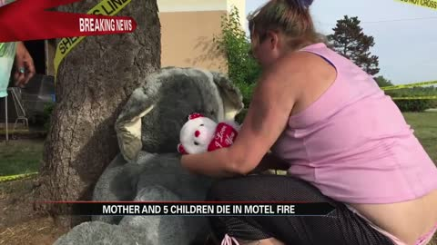 mother and 5 children die in motel fire
