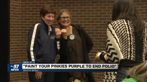 Muffet McGraw teams up with the Rotary Club of South Bend for...