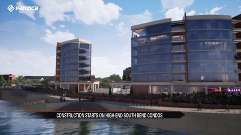 multi million dollar condominium complex breaks ground in south bend