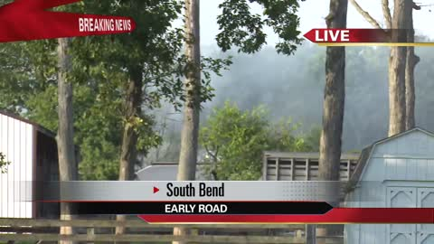Multiple departments fighting fire on Early Road