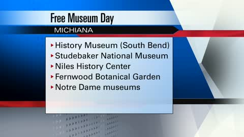 Museums offering free admission this Saturday