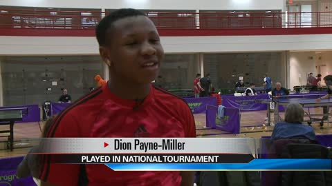 Indiana University South Bend hosts national table tennis tournament