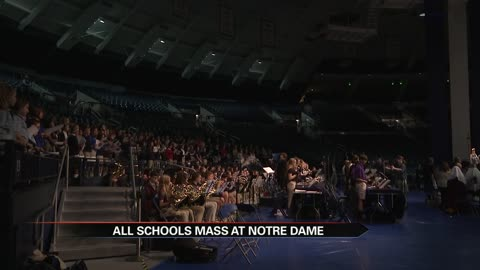 Notre Dame hosts all-schools mass