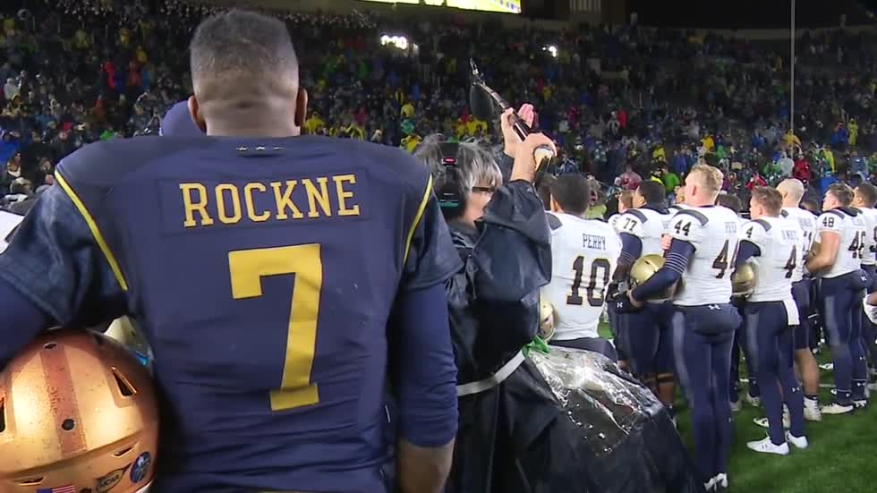 Navy and Notre Dame to play in Dublin b01531225