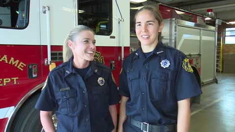 University of Notre Dame hires first female firefighters in history