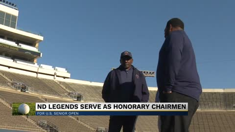 Notre Dame legends Brown and Bettis serve as US Senior Open honorary...