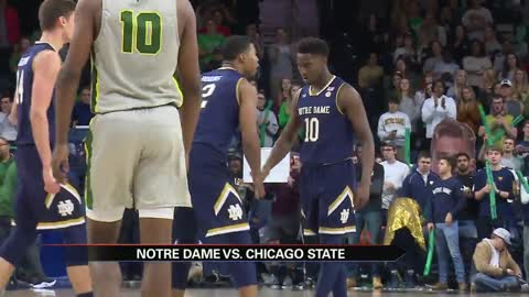 Notre Dame men's hoops runs past Chicago State