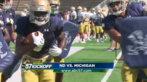 nd notre dame and michigan ready to begin 2018 with rivalry matchup