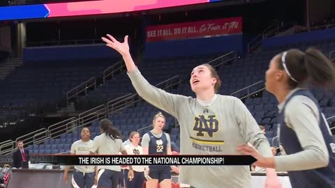 ND prepares for championship matchup with Baylor