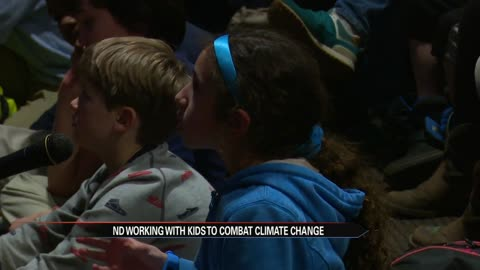 Notre Dame encouraging kids to combat climate change