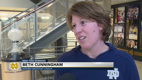 ND's Cunningham inducted into Indiana Basketball Hall of Fame