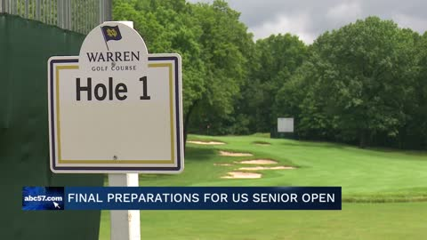 ND's Warren Golf Course making final preparations for US Senior...