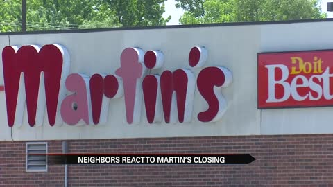 Neighbors concerned about changes to their Martin's