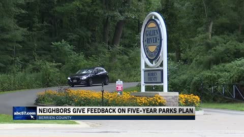 Berrien County Parks five-year plan met with community support...
