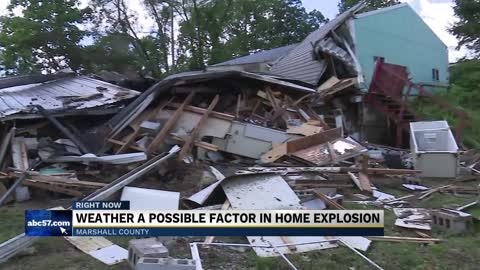 Neighbors hear loud 'boom' and find house exploded in Plymouth