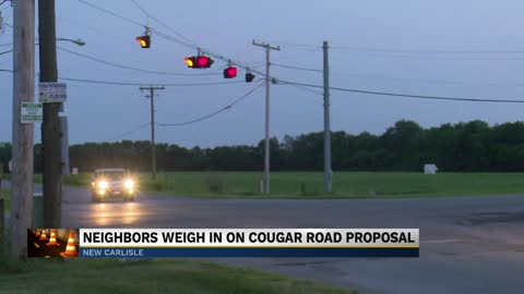 INDOT presents plan to change traffic flow at Cougar Road