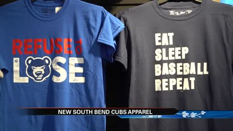 New apparel, novelty items hit the shelves at South Bend Cubs fan shop