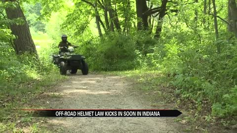 New off-road vehicle helmet law starts this weekend